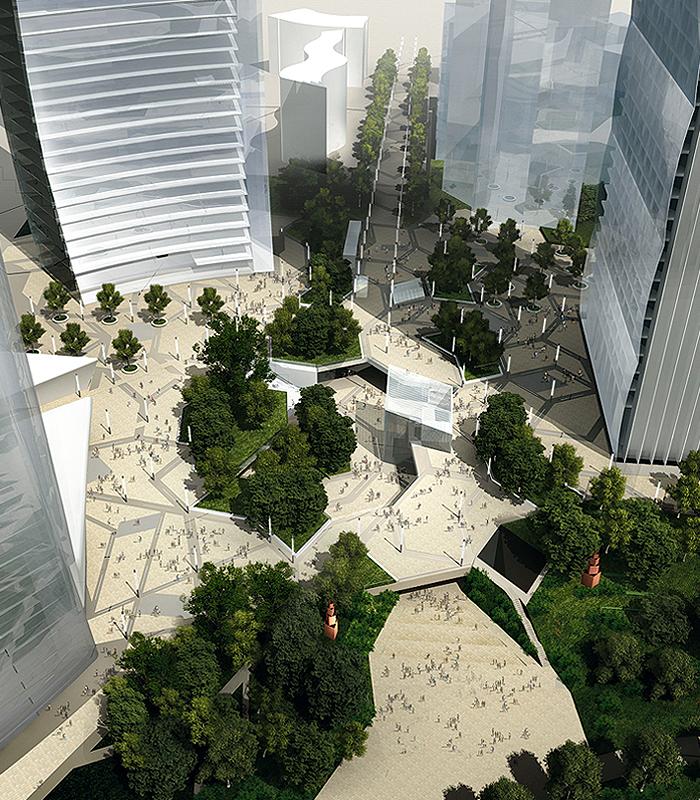 A biesse sistemi e dotmatica il progetto delle control for Quartiere city life